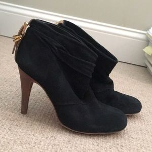 Tory Burch black booties
